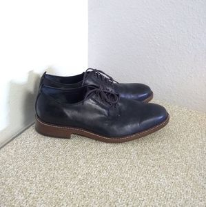 Cole Haan Black Leather Oxford Shoes